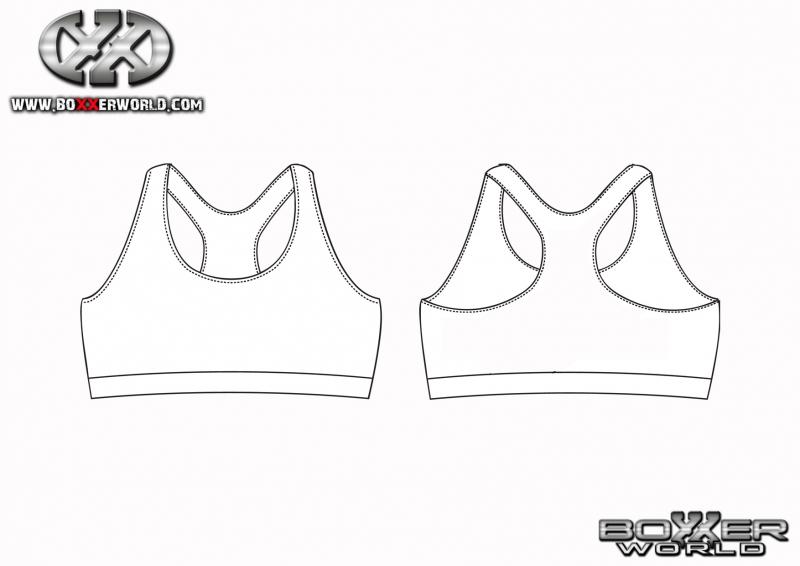 Blank dress design templates